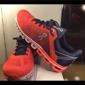 On Cloud Swiss Engineering Women'sShoes Coral/Navy